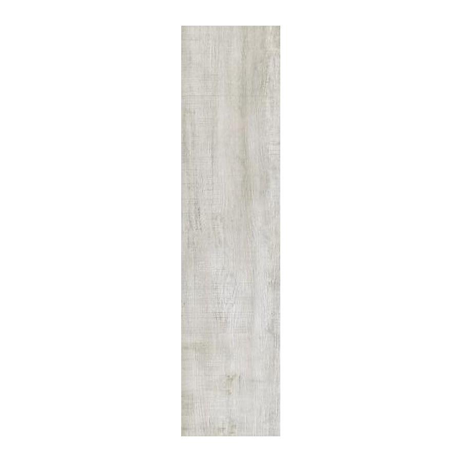 płytka podłogowa ceramiczna gresowa drewnopodobna łazienka kuchnia Gate Weiss 22 x 90 x 1 cm