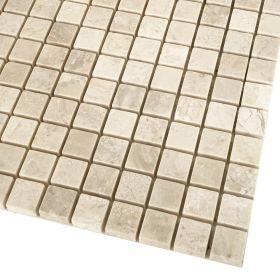mozaika kamienna marmurowa naturalna Diana Royal  / 30,5 x 30,5 x 1 cm / kostka 2,3 x 2,3 x 1 cm