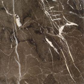 Płytki marmurowe kamienne naturalne podłogowe Emperador Dark polerowane 30,5x30,5x1 cm