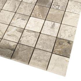 Silver Shadow mozaika marmurowa 30x30 cm