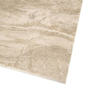 Płytki marmurowe kamienne naturalne podłogowe Diana Royal szlifowany 61x40,6x1,2 cm