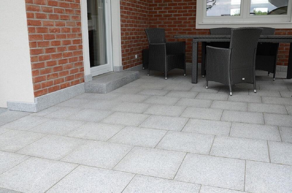 płytka granitowa kamienna naturalna taras szara grey