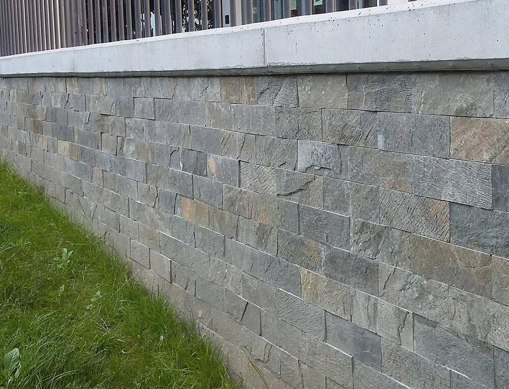 kamień elewacyjny naturalny łupek panel deoli green